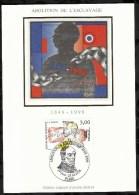 ABOLITION DE L'ESCLAVAGE  . 25 AVRIL 1998  . PARIS . - FDC