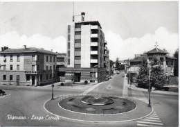 Lombardia-vigevano Largo Cairoli Veduta Albergo Stazione Ristorante - Vigevano