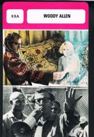 Woody ALLEN - Les Fiches De Monsieur CINEMA- U.S.A   - Recto Verso- Paypal Free - Merchandising