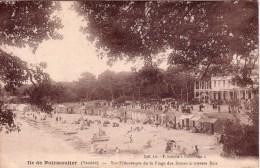 ILE DE NOIRMOUTIER Vue Pittoresque De La Plage Des Dames à Travers Bois Circulée - Ile De Noirmoutier