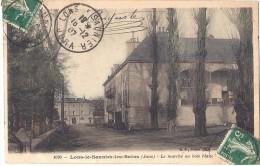 Cpa - Lons Le Saunier - Le Marché Au Bois Blanc  ( En L´état ) - Lons Le Saunier