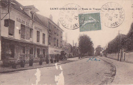 """As - Cpa SAINT CYR L'ECOLE - Route De Trappes """"La Boule D'Or"""" - St. Cyr L'Ecole"""