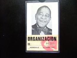 PASE DE LA ORGANIZACION PARA HOMENAJE DE ANTONIO MACHIN - Tickets - Entradas