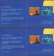 Norwegen, 2 MH 1335/36, Postfrisch + Gest. - Booklets