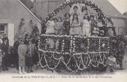 Fêtes - Carnaval - Défilé Char - Fillettes Enfants Papillons - La Ferté Saint-Cyr - Carnaval