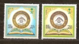 Saoedi Arabie Saoudite 1985 Yvertn° 599-600 *** MNH  Cote 4 Euro - Arabie Saoudite