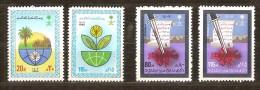 Saoedi Arabie Saoudite 1986 Yvertn° 658-61 *** MNH  Cote 7,80 Euro - Arabie Saoudite