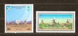 Saoedi Arabie Saoudite 1987 Yvertn° 681-82 *** MNH  Cote 4,50 Euro - Arabie Saoudite