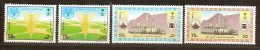 Saoedi Arabie Saoudite 1988 Yvertn° 725-28 *** MNH  Cote 6,25 Euro - Arabie Saoudite
