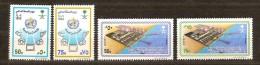 Saoedi Arabie Saoudite 1989 Yvertn° 735-38 *** MNH  Cote 6,00 Euro - Arabie Saoudite