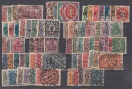 DR Lot Inflation Gestempelt Ansehen Und Lesen !!!!!!!!!!!!!!! - Briefmarken