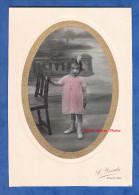 Photo Ancienne Colorisée - AVRANCHES ( Manche ) - Portrait Petite Fille - Photographie Yrondy - Enfant Mode Fashion Girl - Fotos