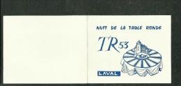 Table Ronde Laval 3ème Anniversaire De La Charte TR53 Diner Et Soirée Dansante 13 Mars 1965 - Programmes