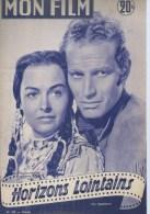 "MON FILM  N° 499  - 1956 "" HORIZONS LOINTAINS "" CHARLTON HESTON + "" LOLA MONTES "" MARTINE CAROL - Cinema"