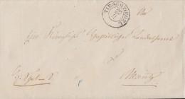 Brief Gelaufen Von Tirschtiegel Am 22.11. Nach Meseritz - ...-1849 Vorphilatelie