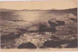 Carte Postale Ancienne,83,var,TOULON,EN 1926,la Mer,à La Tombée De La Nuit,vague,EFFET,REPOS DE L ´ESPRIT - Toulon