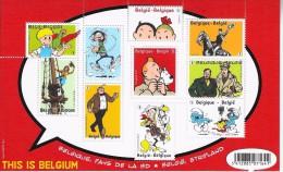 This Is Belgium Strips - Blocks & Sheetlets 1962-....