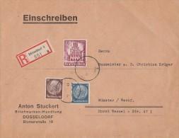 DR R-Brief Mif Minr.514,518,759 Düsseldorf - Briefe U. Dokumente