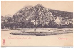 50 CHERBOURG MONTAGNE DU ROULE AVEC JARDIN PUBLIC CPA BON ÉTAT - Cherbourg