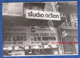 Photo Ancienne - PARIS - Cinéma à Identifier - Action Lafayette 2 - Film De Fritz Lang B. W. Griffith - Places