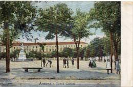 Marche-ancona-ancona Veduta Piazza Cavour Animata Primi/900 - Ancona