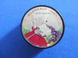 Rare : Boîte En Bakélite De Parfum Compact De 1930 - ORIGAN - GUENEAUX - PARIS - Made In France - Miniatures Anciennes (jusque 1960)