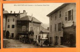 MNK-24 Montmelian 73, La Fontaine Pillet-Will, Automobile. Animé. Non Circulé - Montmelian