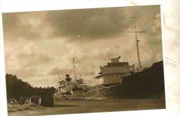 "Photo Bateau Navire "" Saint Joseph   "" Hervé Nader France Chantiers De Caen Gabian Ship Fret Mer Marine Marchande - Barche"