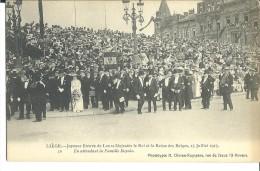 ! - Belgique - Liège : Joyeuse Entrée De Leurs Majestés Le Roi Albert 1er Et La Reine Des Belges,  13 Juillet 1913 - Evénements