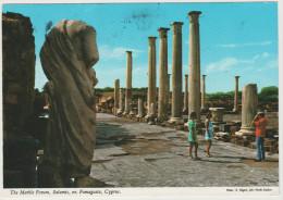 CIPRO - CYPRUS - 2002 - The Marble Forum, Salamis, Nr. Famagusta, Cyprus - Viaggiata Da Nicosia Per Ollioules, France - Cipro