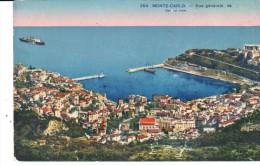 POSTAL    MONTECARLO  - MONACO -  VISTA GENERAL  (VUE GÉNÉRALE  - GENERAL VIEW ) - Monte-Carlo