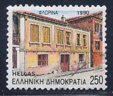 Greece, Scott # 1699 Used Florina, 1990 - Greece