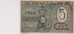 Portugal-billet-Covilhã -cédula  5 Centavos - Portugal