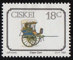 Ciskei - Scott #143 Early Transportation, Cape Cart  / Mint H Stamp - Ciskei