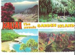 Kauai The Scenic Garden Island  4 Views - Kauai
