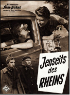 """Illustrierte Film-Bühne  -  """"Jenseits Des Rheins""""  -  Mit Charles Aznavour -  Filmprogramm Nr. 05495 Von Ca. 1960 - Magazines"""