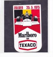 Marlboro Fornule 1 - Zolder 25.05.75 - Automobile - F1