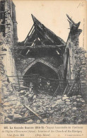 02.ASPECT DE L'EGLISE D'ETAVIGNY - War 1914-18