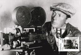 Spain 2015 - The World Of Cinema - F.W. Murnau (1888-1931) Maxicard - Cinema
