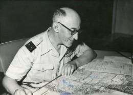 Photo  De Presse -  Le Général  GAMBRIEZ  Et Ses 15000 Hommes En  TUNISIE  En 1958 - Oorlog, Militair