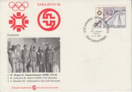 Enveloppe  1er  Jour   YOUGOSLAVIE    Jeux   Olympiques   SARAJEVO   1984 - Winter 1984: Sarajevo