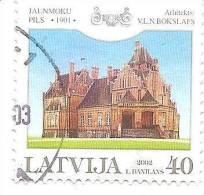 LATVIA - Castle - Palace Jaunmokas  2002  Used (0) - Lettonie