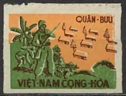 Viêt-Nam Sud,  Franchise Militaire N° 001(*) Y Et T, 1 , Papier Mince - Viêt-Nam
