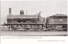 SIX COUPLED GOODS LOCOMOTIVE, North British Railway  - (England ) - Eisenbahnen