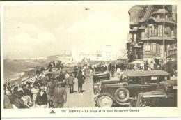45222     Dieppe  La Plage Etle Quai Alexandre Dumas - Dieppe