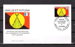 "WALLIS ET FUTUNA 1997 : Enveloppe 1er Jour "" ROI TUSIGAVE / MATA - UTU Le 14-02-1997 "" N° YT 500. Parf état. FDC - Briefe"