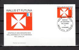 "WALLIS ET FUTUNA 1997 : Enveloppe 1er Jour "" ROI LAVELUA / MATA - UTU Le 14-02-1997 "" N° YT 498. Parf état. FDC - Briefe"