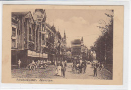 Amsterdam - Rembrandtsplein -  Strassenbahn, Tram - Amsterdam