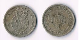 Angola 2,50 Escudos  1967 - Angola