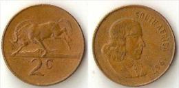 South Africa 2 Cents 1967 - Sudáfrica
